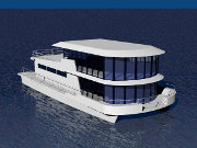 60' Catamaran House Boat